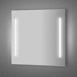 Зеркало Evoform Lumline 80х75 см, с 2-мя встроенными LUM- светильниками 40 W (BY 2017) зеркало 80х75 см санта марс 900503