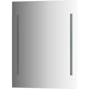 Зеркало Evoform Ledline 60х75 см, с 2-мя встроенными LED- светильниками 10,5 W (BY 2115)