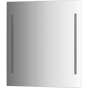 Зеркало Evoform Ledline 70х75 см, с 2-мя встроенными LED- светильниками 10,5 W (BY 2116) фото
