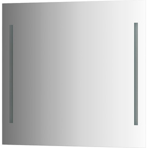 Зеркало Evoform Ledline 80х75 см, с 2-мя встроенными LED- светильниками 10,5 W (BY 2117)
