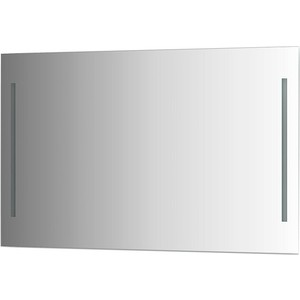 Зеркало Evoform Ledline 120х75 см, с 2-мя встроенными LED- светильниками 10,5 W (BY 2120)