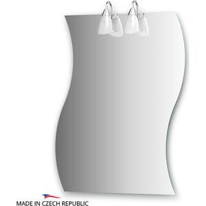 Зеркало Ellux Classic 70х90 см, с 2-мя светильниками 80 W (CLA-A2 0426) цены