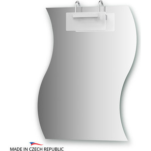 Зеркало Ellux Mode 60х75 см, со светильником 100 W (MOD-C1 0425) цены