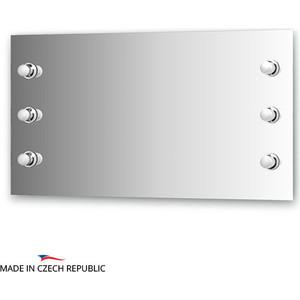 Зеркало Ellux Rondo 110х60 см, с 6-ю светильниками 240 W (RON-A6 9003)