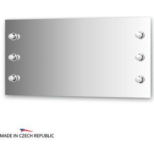 Зеркало Ellux Rondo 120х60 см, с 6-ю светильниками 240 W (RON-A6 9004)