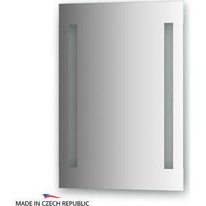 Зеркало Ellux Stripe LED 50х70 см, с 2-мя встроенными LED- светильниками 12 W (STR-A2 9112) зеркало ellux laguna 160х75 см с 4 мя светильниками 112 w lag a4 0219