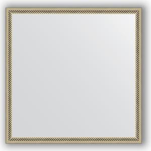 Зеркало в багетной раме Evoform Definite 58x58 см, витое серебро 28 мм (BY 0605) сабо grand style grand style gr025awryg66