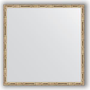 Зеркало в багетной раме Evoform Definite 57x57 см, серебряный бамбук 24 мм (BY 0608) зеркало в багетной раме evoform definite 67x67 см серебряный бамбук 24 мм by 0659