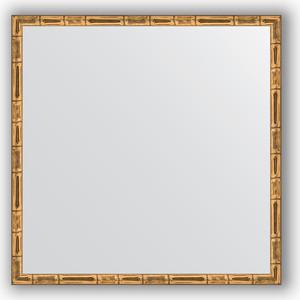 Зеркало в багетной раме Evoform Definite 57x57 см, золотой бамбук 24 мм (BY 0609) зеркало в багетной раме evoform definite 67x67 см серебряный бамбук 24 мм by 0659