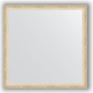 цена на Зеркало в багетной раме Evoform Definite 60x60 см, состаренное серебро 37 мм (BY 0610)