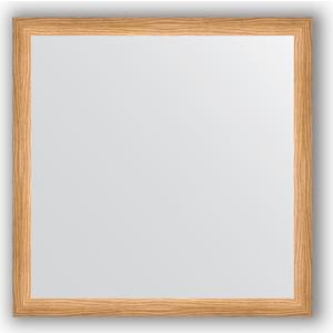 Зеркало в багетной раме Evoform Definite 60x60 см, клен 37 мм (BY 0612)