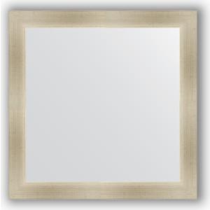 Зеркало в багетной раме Evoform Definite 64x64 см, травленое серебро 59 мм (BY 0615)