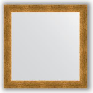 Зеркало в багетной раме Evoform Definite 64x64 см, травленое золото 59 мм (BY 0616) evoform by 0641