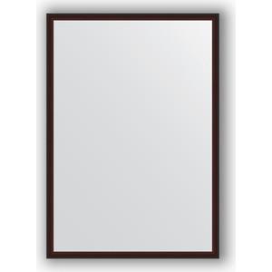 Зеркало в багетной раме поворотное Evoform Definite 48x68 см, махагон 22 мм (BY 0621) зеркало в багетной раме поворотное evoform definite 48x138 см махагон 22 мм by 0707