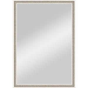 Зеркало в багетной раме поворотное Evoform Definite 48x68 см, витое серебро 28 мм (BY 0622) зеркало в багетной раме поворотное evoform definite 48x98 см витое серебро 28 мм by 0691