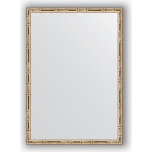 Зеркало в багетной раме поворотное Evoform Definite 47x67 см, серебряный бамбук 24 мм (BY 0625) зеркало в багетной раме evoform definite 67x67 см серебряный бамбук 24 мм by 0659