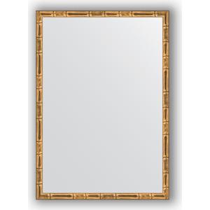 Зеркало в багетной раме поворотное Evoform Definite 47x67 см, золотой бамбук 24 мм (BY 0626) игровой набор 1toy хома дома хома хомбургер