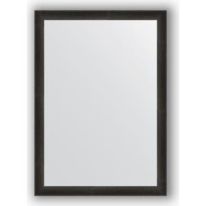 Зеркало в багетной раме поворотное Evoform Definite 50x70 см, черный дуб 37 мм (BY 0631) цена