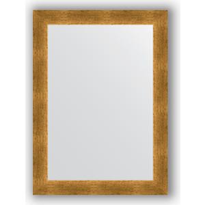 Зеркало в багетной раме поворотное Evoform Definite 54x74 см, травленое золото 59 мм (BY 0633) зеркало в багетной раме поворотное evoform definite 54x74 см травленое серебро 59 мм by 0632
