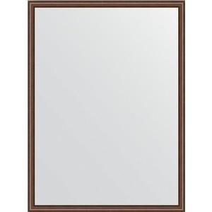 Фото - Зеркало в багетной раме поворотное Evoform Definite 58x78 см, орех 22 мм (BY 0637) зеркало в багетной раме поворотное evoform definite 68x88 см орех 22 мм by 0672