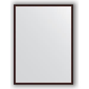 Зеркало в багетной раме поворотное Evoform Definite 58x78 см, махагон 22 мм (BY 0638) зеркало в багетной раме поворотное evoform definite 48x138 см махагон 22 мм by 0707