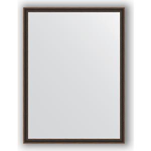 купить Зеркало в багетной раме поворотное Evoform Definite 58x78 см, витой махагон 28 мм (BY 0641) онлайн