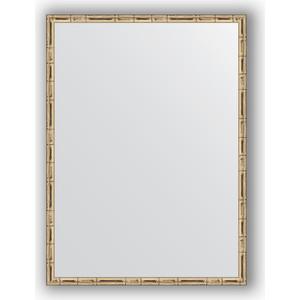 Зеркало в багетной раме поворотное Evoform Definite 57x77 см, серебряный бамбук 24 мм (BY 0642) зеркало в багетной раме поворотное evoform definite 47x97 см золотой бамбук 24 мм by 0695