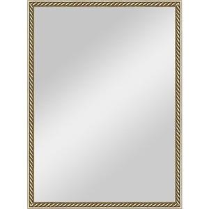 Зеркало в багетной раме поворотное Evoform Definite 58x78 см, витая латунь 26 мм (BY 0651)