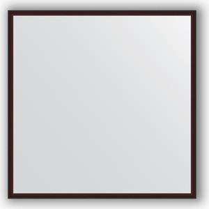Зеркало в багетной раме Evoform Definite 68x68 см, махагон 22 мм (BY 0655) зеркало в багетной раме evoform definite 68x68 см витая латунь 26 мм by 0669