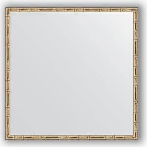 Зеркало в багетной раме Evoform Definite 67x67 см, серебряный бамбук 24 мм (BY 0659) зеркало в багетной раме evoform definite 67x67 см серебряный бамбук 24 мм by 0659