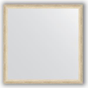 цена на Зеркало в багетной раме Evoform Definite 70x70 см, состаренное серебро 37 мм (BY 0661)