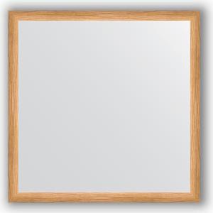 Зеркало в багетной раме Evoform Definite 70x70 см, клен 37 мм (BY 0663)