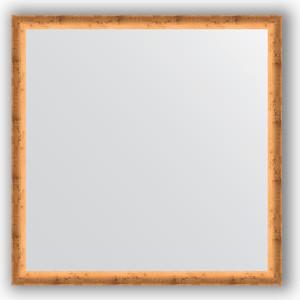 Зеркало в багетной раме Evoform Definite 70x70 см, красная бронза 37 мм (BY 0664)
