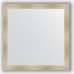 Зеркало в багетной раме Evoform Definite 74x74 см, травленое серебро 59 мм (BY 0667)