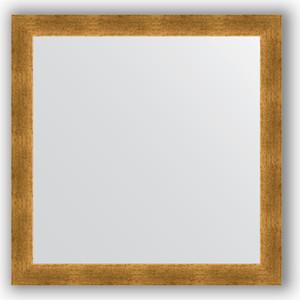 Зеркало в багетной раме Evoform Definite 74x74 см, травленое золото 59 мм (BY 0668)