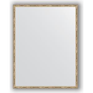 Зеркало в багетной раме поворотное Evoform Definite 67x87 см, серебряный бамбук 24 мм (BY 0677) зеркало в багетной раме поворотное evoform definite 47x97 см золотой бамбук 24 мм by 0695