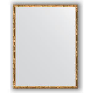 Зеркало в багетной раме поворотное Evoform Definite 67x87 см, золотой бамбук 24 мм (BY 0678) ланита обои ланита 2 0678