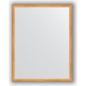 Зеркало в багетной раме поворотное Evoform Definite 70x90 см, клен 37 мм (BY 0681)