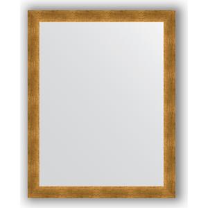 Зеркало в багетной раме поворотное Evoform Definite 74x94 см, травленое золото 59 мм (BY 0685)