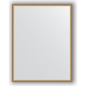Зеркало в багетной раме поворотное Evoform Definite 68x88 см, витая латунь 26 мм (BY 0686) зеркало в багетной раме evoform definite 68x68 см витая латунь 26 мм by 0669