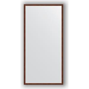Зеркало в багетной раме поворотное Evoform Definite 48x98 см, орех 22 мм (BY 0689) зеркало в багетной раме поворотное evoform definite 48x98 см вишня 22 мм by 0688