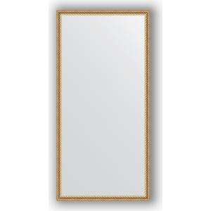 Зеркало в багетной раме поворотное Evoform Definite 48x98 см, витое золото 28 мм (BY 0692)