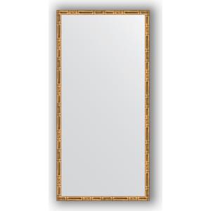 Зеркало в багетной раме поворотное Evoform Definite 47x97 см, золотой бамбук 24 мм (BY 0695) фото