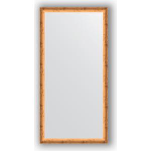 цены Зеркало в багетной раме поворотное Evoform Definite 50x100 см, красная бронза 37 мм (BY 0699)