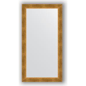Зеркало в багетной раме поворотное Evoform Definite 54x104 см, травленое золото 59 мм (BY 0702)