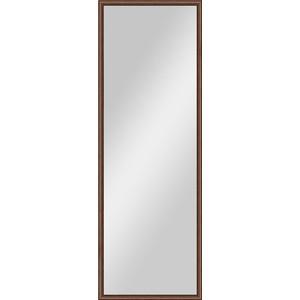 Зеркало в багетной раме поворотное Evoform Definite 48x138 см, орех 22 мм (BY 0706) зеркало в багетной раме поворотное evoform definite 48x138 см махагон 22 мм by 0707