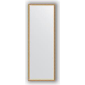 Зеркало в багетной раме поворотное Evoform Definite 48x138 см, витое золото 28 мм (BY 0709) зеркало в багетной раме поворотное evoform definite 48x138 см махагон 22 мм by 0707
