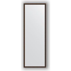 купить Зеркало в багетной раме поворотное Evoform Definite 48x138 см, витой махагон 28 мм (BY 0710) онлайн