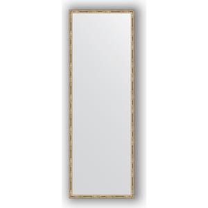 Зеркало в багетной раме поворотное Evoform Definite 47x137 см, серебряный бамбук 24 мм (BY 0711) зеркало в багетной раме evoform definite 67x67 см серебряный бамбук 24 мм by 0659
