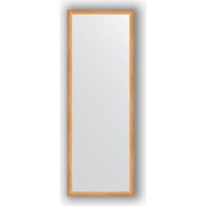 Зеркало в багетной раме поворотное Evoform Definite 50x140 см, клен 37 мм (BY 0715) фото